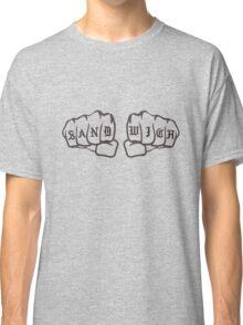 Knuckle Sandwich (grey) Classic T-Shirt