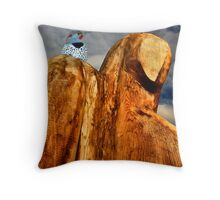 It's been a hard day's night Throw Pillow