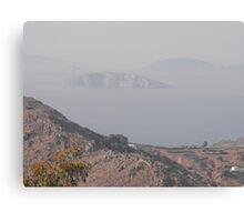 Greek Island Illusions Canvas Print