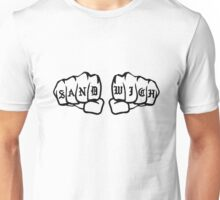 Knuckle Sandwich (black) Unisex T-Shirt