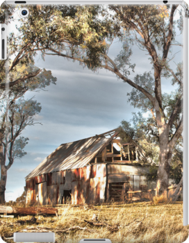 Cassilis Shack - Warm HDR by Candice O'Neill