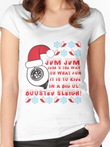 JDM Xmas Women's Fitted Scoop T-Shirt
