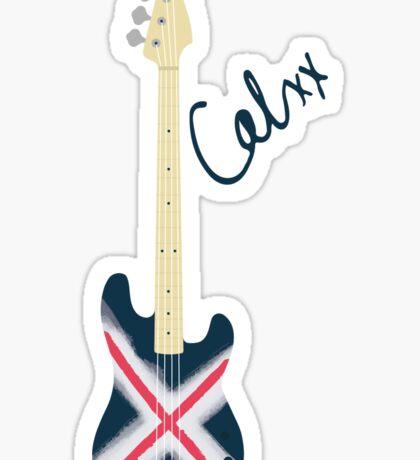 Calum's Bass Phone Case Sticker