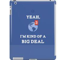 Big Deal iPad Case/Skin