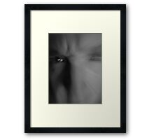 Blur of Emotion Framed Print