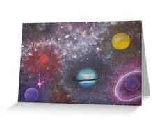 Janet Misselbrook 'Cosmic Universe' Greeting Card