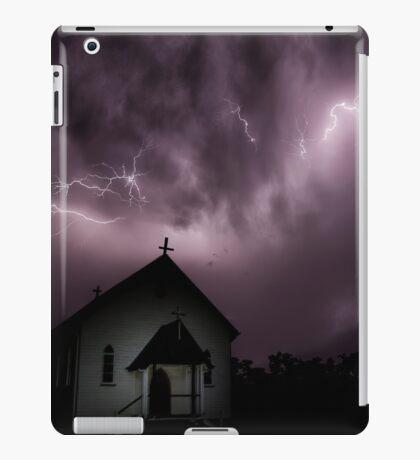 Gods work iPad Case/Skin