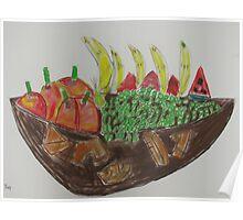 Andrew Pemberton 'Fruit Bowl' Poster