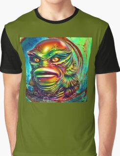 Creature from the black lagoon. Graphic T-Shirt