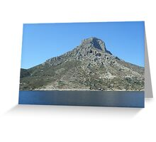 Beautiful Greek Islands 4 Greeting Card