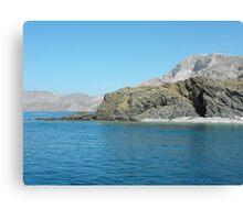 Beautiful Greek Islands 5 Canvas Print