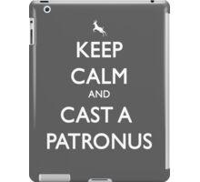 Keep Calm and Cast a Patronus iPad Case/Skin