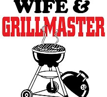 wife and grill master by trendz