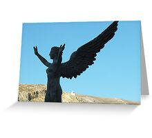 Greek Statue Greeting Card