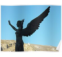 Greek Statue Poster