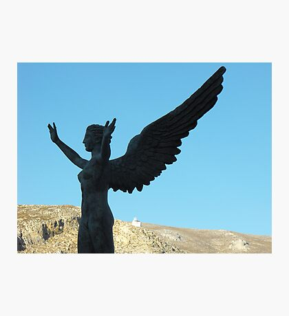 Greek Statue Photographic Print