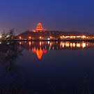 dagoba night view by davvi