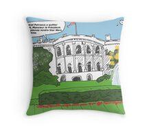Dessin général Petraeus scandale Throw Pillow
