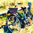Bike at the Beach - Nantucket by Tammy Wetzel