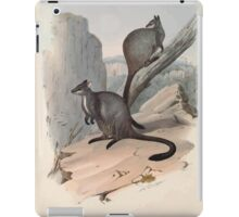 A monograph of the Macropodidæ or family of kangaroos John Gould 1842 023 Petrogale Penicillata iPad Case/Skin