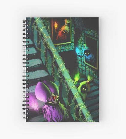 Poe Sisters Spiral Notebook