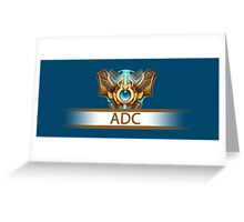 ADC Badge Greeting Card