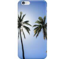 Cook Islands style sun block iPhone Case/Skin