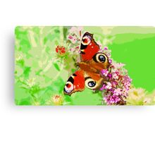 Wild nature - butterfly #2 Canvas Print