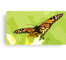 Wild nature - buttefly #3 Canvas Print