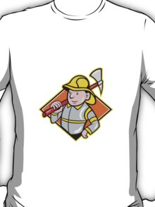 Fireman Firefighter Emergency Worker  T-Shirt