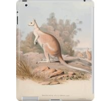 A monograph of the Macropodidæ or family of kangaroos John Gould 1842 004 Macropus Unguifer iPad Case/Skin