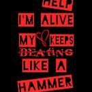 Help I'm Alive Black by GirlsnGuns