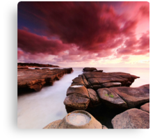 Soldiers Beach Sunrise Canvas Print
