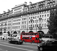London Bus Travels by JCMPhotos