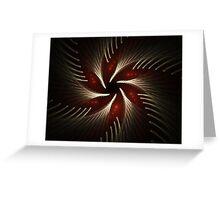 Silver ferns Greeting Card