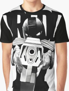 Judge Dredd from 2000AD Graphic T-Shirt