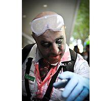 Lab coat Zombie Photographic Print
