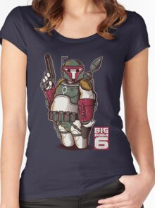BIG BOBA 6 Women's Fitted Scoop T-Shirt