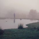 man in the fog by Daphne Kotsiani