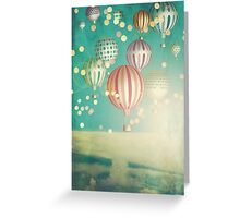 There's magic in the air (Christmas Time) Greeting Card