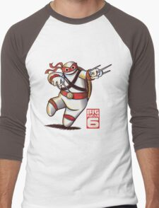 BIG NINJA 6 Men's Baseball ¾ T-Shirt