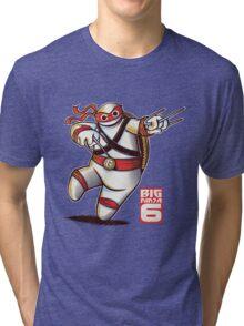 BIG NINJA 6 Tri-blend T-Shirt