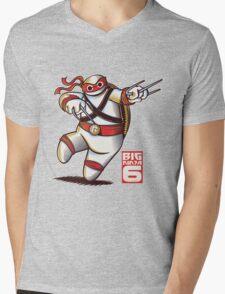 BIG NINJA 6 Mens V-Neck T-Shirt