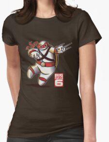 BIG NINJA 6 Womens Fitted T-Shirt