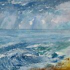 CHRIS'S BAY SEASCAPE   ART PRINT by Shoshonan