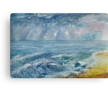 CHRIS'S BAY SEASCAPE   ART PRINT Canvas Print