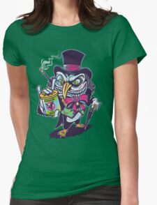 HUNTING THE BAT Womens Fitted T-Shirt