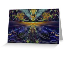 Composite Abstraction Greeting Card