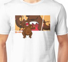 Foe Grizzle with Logo Unisex T-Shirt