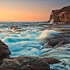 Incoming tide by Andrew Walker